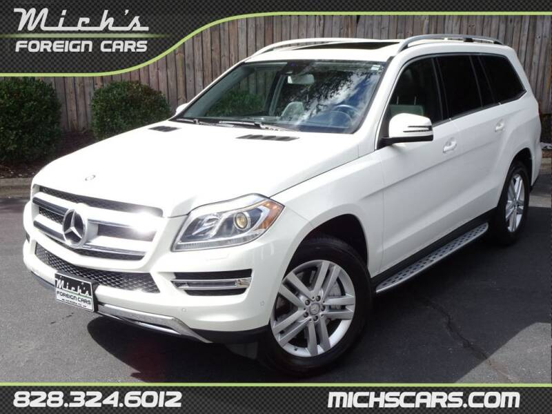 2013 Mercedes-Benz GL-Class for sale at Mich's Foreign Cars in Hickory NC