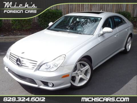2008 Mercedes-Benz CLS for sale at Mich's Foreign Cars in Hickory NC