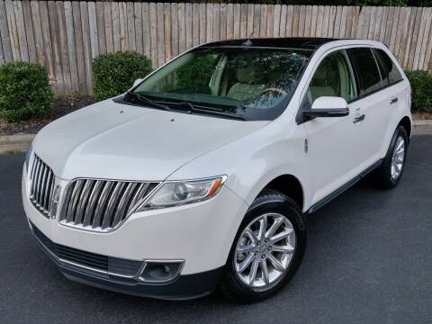 2014 Lincoln MKX for sale at Mich's Foreign Cars in Hickory NC