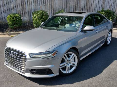 2017 Audi A6 for sale at Mich's Foreign Cars in Hickory NC