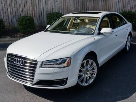 2015 Audi A8 L for sale at Mich's Foreign Cars in Hickory NC