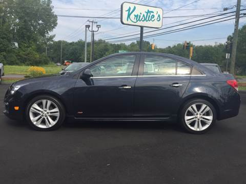 2015 Chevrolet Cruze for sale in East Windsor, CT