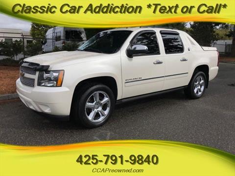 2013 Chevrolet Black Diamond Avalanche for sale in Marysville, WA