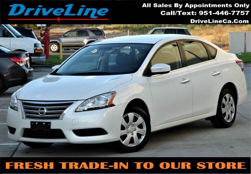 2014 Nissan Sentra For Sale At Driveline In Murrieta CA