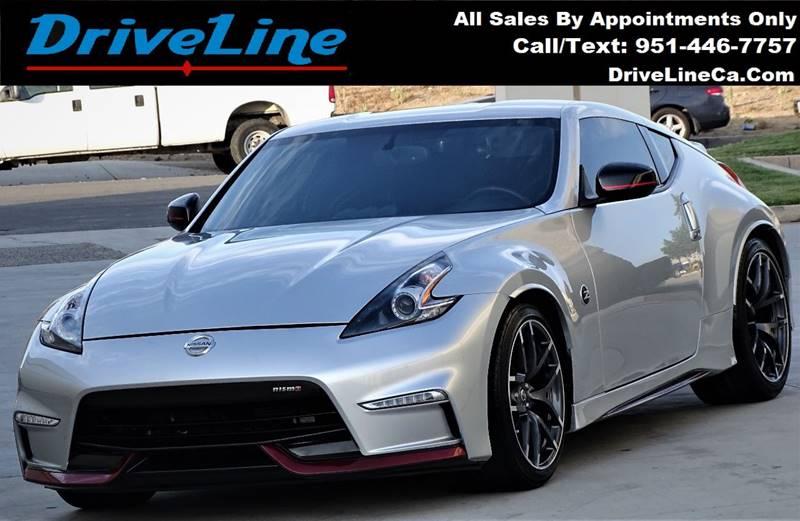 2016 Nissan 370z Nismo Tech In Murrieta Ca Driveline