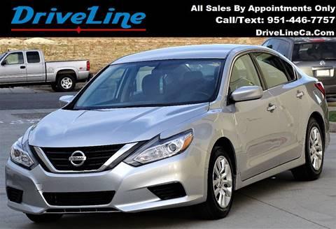2016 Nissan Altima for sale in Murrieta, CA