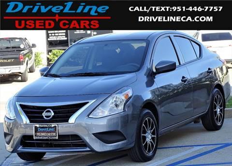 2017 Nissan Versa for sale in Murrieta, CA