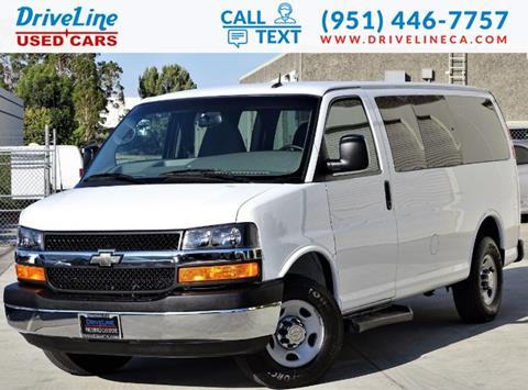2014 Chevrolet Express Passenger for sale in Murrieta, CA