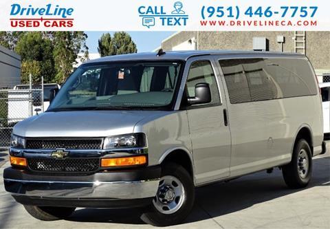 2018 Chevrolet Express Passenger for sale in Murrieta, CA