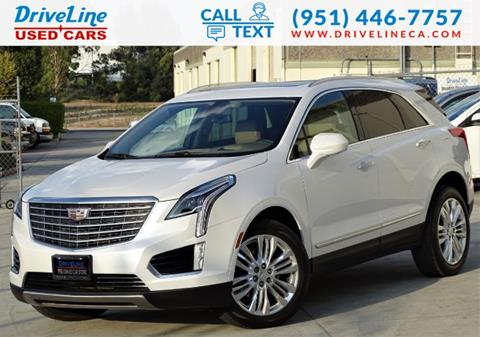 2017 Cadillac XT5 for sale in Murrieta, CA