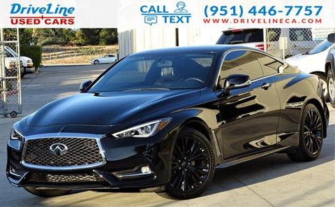 2017 Infiniti Q60 for sale in Murrieta, CA