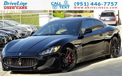 2015 Maserati GranTurismo for sale in Murrieta, CA