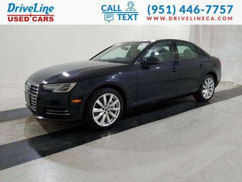 2017 Audi A4 for sale in Murrieta, CA