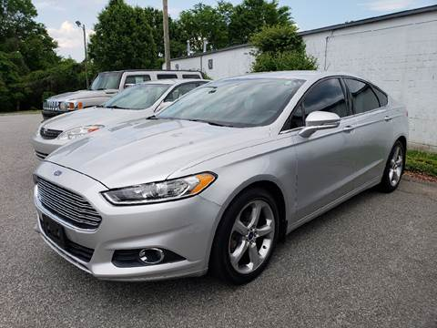 2013 Ford Fusion for sale at YOUR WAY AUTO SALES INC in Greensboro NC