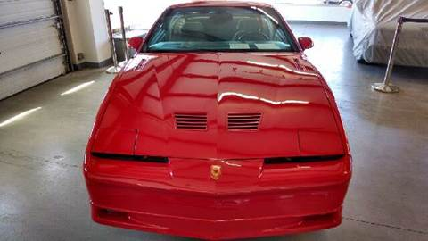 1987 Pontiac Firebird for sale at Exclusive Automotive in West Chester OH