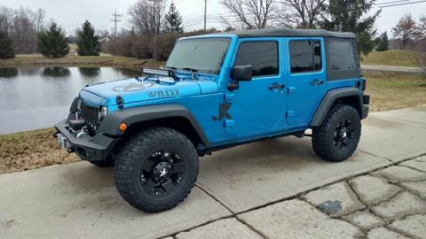2014 Jeep Wrangler Unlimited for sale at Exclusive Automotive in West Chester OH