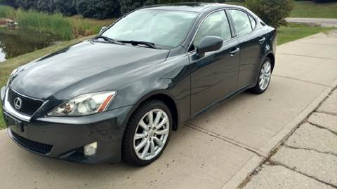2008 Lexus IS 250 for sale at Exclusive Automotive in West Chester OH