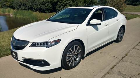 2015 Acura TLX for sale at Exclusive Automotive in West Chester OH