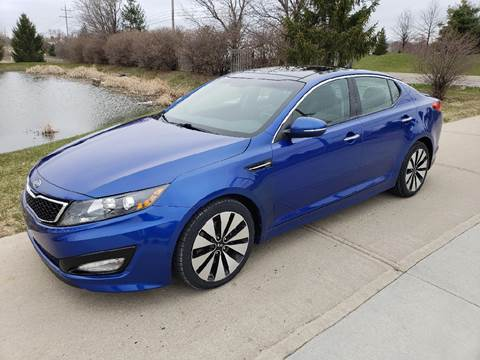 2011 Kia Optima for sale at Exclusive Automotive in West Chester OH