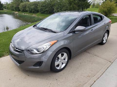 2013 Hyundai Elantra for sale at Exclusive Automotive in West Chester OH