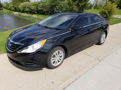 2012 Hyundai Sonata for sale at Exclusive Automotive in West Chester OH