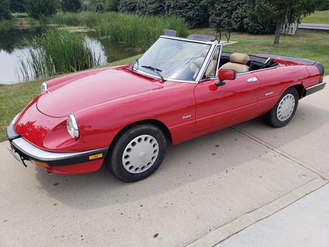1989 Alfa Romeo Spider for sale at Exclusive Automotive in West Chester OH