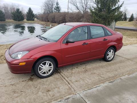 2003 Ford Focus for sale at Exclusive Automotive in West Chester OH