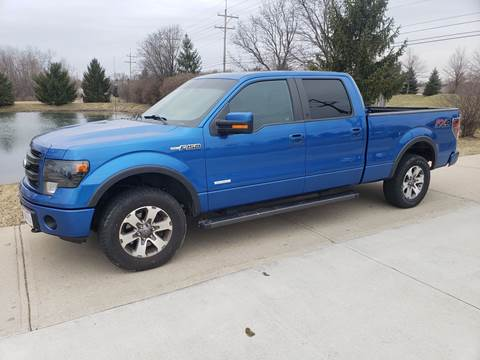 2013 Ford F-150 for sale at Exclusive Automotive in West Chester OH