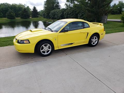 2003 Ford Mustang for sale at Exclusive Automotive in West Chester OH
