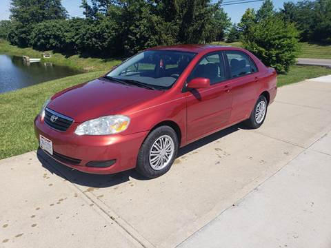 2006 Toyota Corolla for sale at Exclusive Automotive in West Chester OH