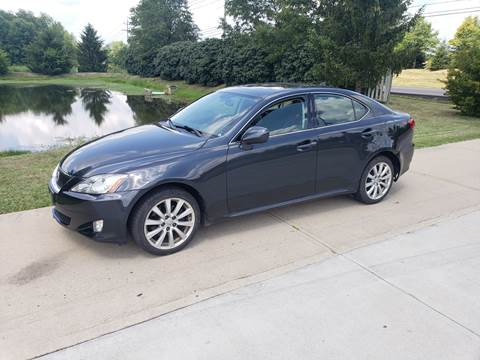 2007 Lexus IS 250 for sale at Exclusive Automotive in West Chester OH