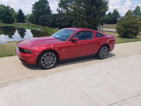 2010 Ford Mustang for sale at Exclusive Automotive in West Chester OH