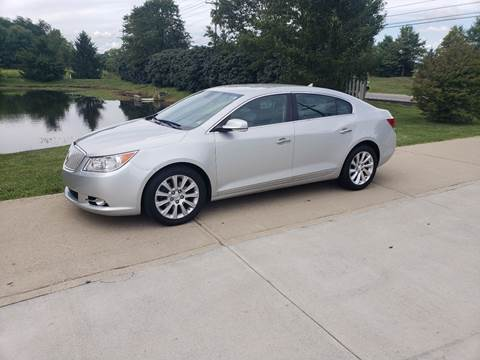 2013 Buick LaCrosse for sale at Exclusive Automotive in West Chester OH