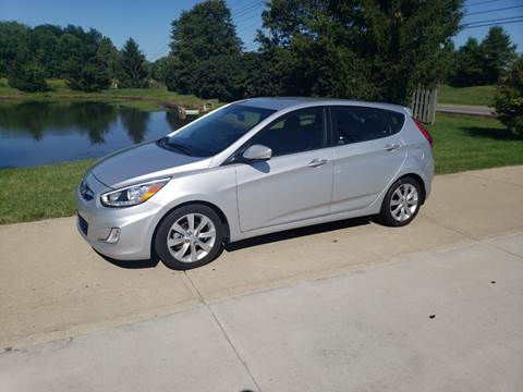 2014 Hyundai Accent for sale at Exclusive Automotive in West Chester OH