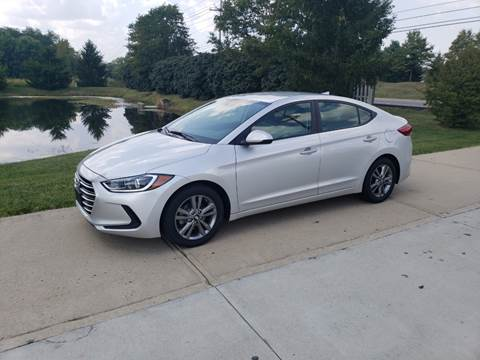 2017 Hyundai Elantra for sale at Exclusive Automotive in West Chester OH