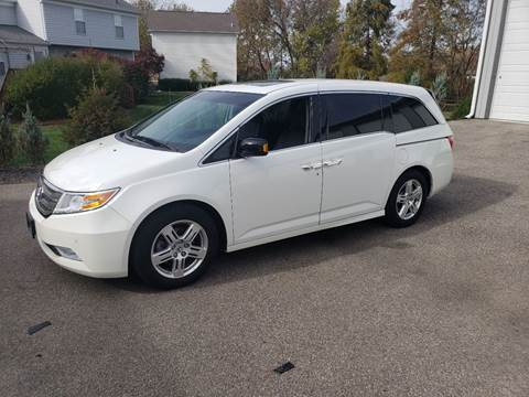 2012 Honda Odyssey for sale at Exclusive Automotive in West Chester OH