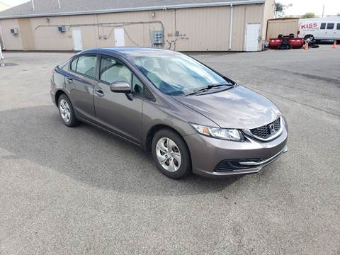 2015 Honda Civic for sale at Exclusive Automotive in West Chester OH