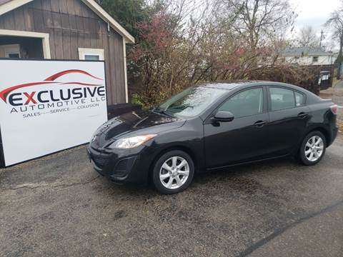 2010 Mazda MAZDA3 for sale at Exclusive Automotive in West Chester OH