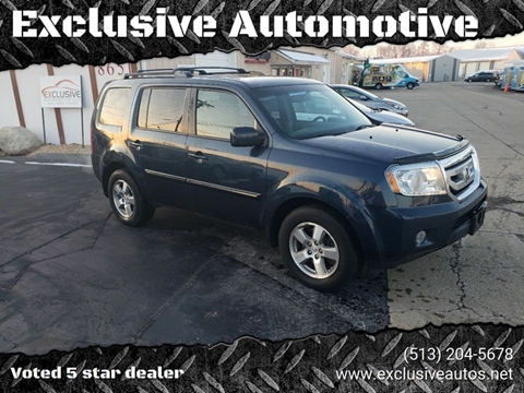 2010 Honda Pilot for sale at Exclusive Automotive in West Chester OH