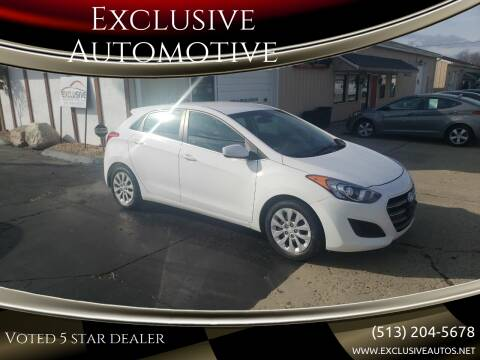 2016 Hyundai Elantra GT for sale at Exclusive Automotive in West Chester OH