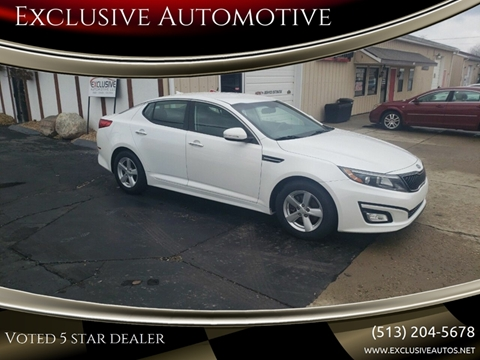 2015 Kia Optima for sale at Exclusive Automotive in West Chester OH