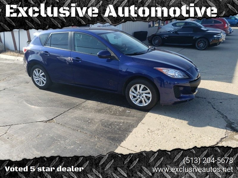 2013 Mazda MAZDA3 for sale at Exclusive Automotive in West Chester OH