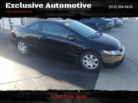 2011 Honda Civic for sale at Exclusive Automotive in West Chester OH