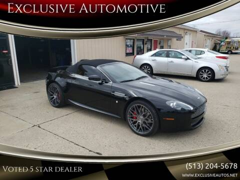 2009 Aston Martin V8 Vantage for sale at Exclusive Automotive in West Chester OH