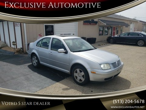 2002 Volkswagen Jetta for sale at Exclusive Automotive in West Chester OH