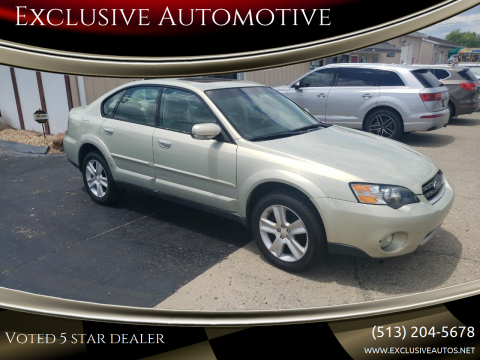 2005 Subaru Outback for sale at Exclusive Automotive in West Chester OH