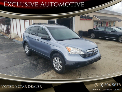 2007 Honda CR-V for sale at Exclusive Automotive in West Chester OH