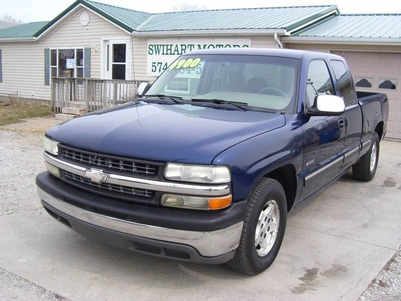 2001 Chevrolet Silverado 1500 4dr Extended Cab LS 2WD SB In Lapaz IN ...