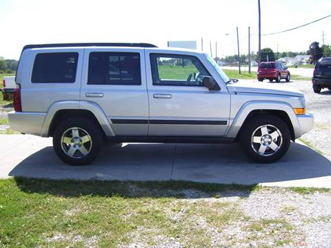 2009 Jeep Commander for sale in Lapaz, IN