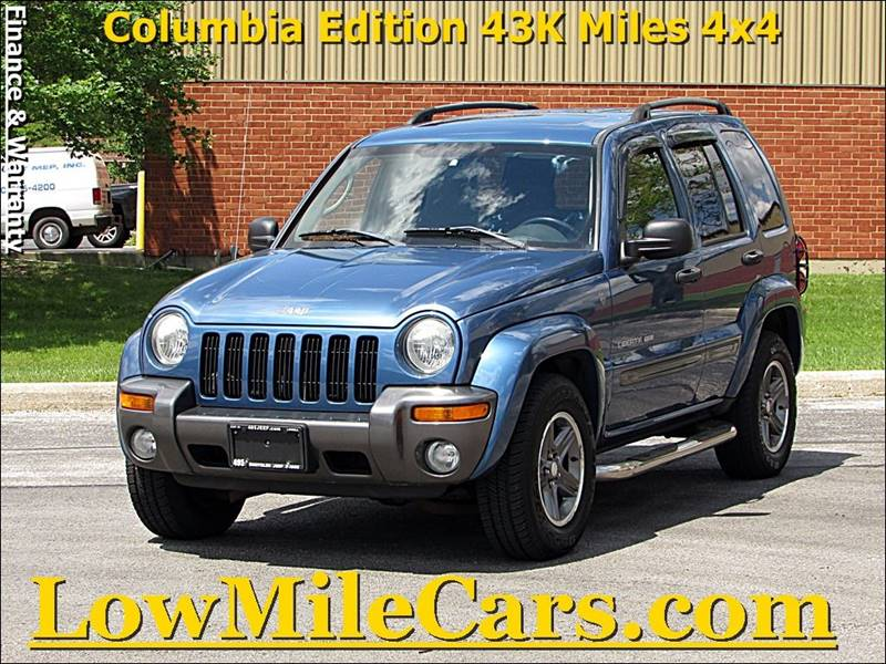 2004 jeep liberty columbia edition 4wd 4dr suv in burr ridge il a1 auto sales. Black Bedroom Furniture Sets. Home Design Ideas